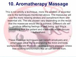top 10 massage techniques