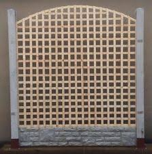 Curved Trellis Fence Panels Fence Top Trellis Ebay