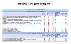 m e report template monthly report template simple monthly management report template