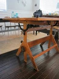 Engineering Drafting Table by Antique Drafting Table Rhama Home Decor