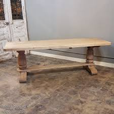 Rustic Oak Bench Antique Rustic Oak Country French Farm Table Inessa Stewart U0027s