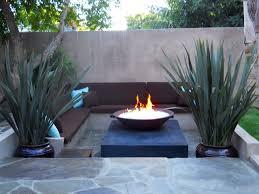 outdoor modern backyard fire pit with sofa wayne home decor