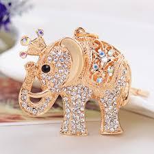 classic elephant ring holder images Brands havaria women key chain keychains bag pendant car key ring jpg