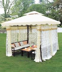 Unique Outdoor Furniture by Pe Rattan Metal Frame Decorative Gazebo Unique Garden Gazebo
