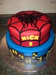 9 best spiderman cakes images on pinterest birthday cakes