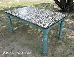 Painted Dining Table Ideas 102 Best Dining Tables Chairs Chalk Paint Ideas Images On