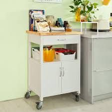 furniture small white movable kitchen island for kitchen addition