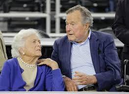 George H W Bush Date Of Birth President George H W Bush Barbara Bush Both Hospitalized Ny