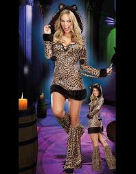 Womens Cheetah Halloween Costume Compare Prices Woman Leopard Costume Shopping Buy