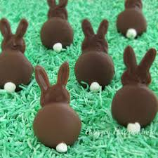 easter bunny candy chocolate bunny silhouettes hungry happenings easter recipe