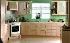 fresh green country kitchen tiles 13728