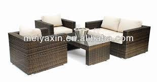 Garden Furniture Hotel Patio Furniture Sofa Set Rattan Sleeper - Patio furniture sofa sets