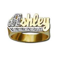 gold name ring gold name ring with diamonds 10mm be monogrammed