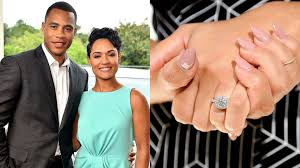 grace engagement ring rocking their engagement rings angela simmons says yes