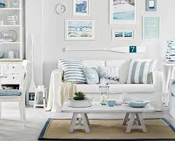 coastal themed living room home decor white living room decor seaside charm