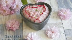 cuisiner les radis roses tzatziki de radis roses recette par dans la cuisine de gin