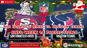 What Are The Super Bowl Predictions From 14 Animals Across The - san francisco 49ers vs houston texans nfl week 14 predictions