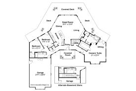 craftsman house plans eddinger associated designs plan with rear