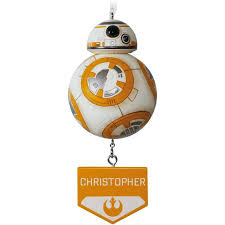 wars bb8 personalized ornament personalized ornaments