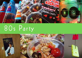 80s party table decorations practically living 80s party food and decor