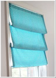 Instructions For Making A Roman Blind One Yard No Sew Window Treatment 3 Ways