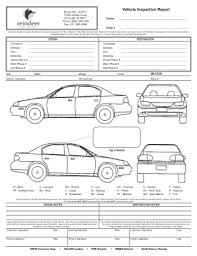 vehicle inspection report template automotive inspection forms free fill printable