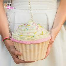 cupcake purse vanilla rainbow sprinkles cupcake purse