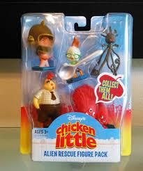 disney chicken alien rescue figure pack hasbro disney