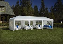 sportcraft 9 u0027 x 27 u0027 event party tent shop your way online
