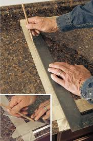 How To Cut A Sink Hole In Laminate Countertop Cut A Laminate Countertop For A Sink Fine Homebuilding