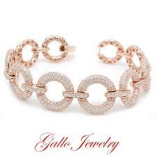 sterling silver crystal bracelet images Ladies sterling silver crystal fancy bracelet jpg