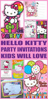 Hello Kitty Invitation Card Maker Free The 25 Best Hello Kitty Invitations Ideas On Pinterest Hello