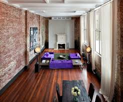 Interior Nice View With Exposed Brick Wall Captivating Exposed