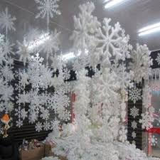 snowflake decorations 30pcs 10 bags white snowflake christmas decortions for home