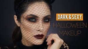 Halloween Makeup For Dark Skin by Dark Halloween Makeup Melissa Alatorre Youtube