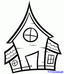 Halloween House Coloring Pages by How To Draw A Haunted House Spooky Haunted House Coloring Page In