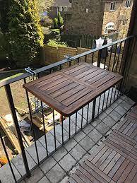 tavolino da terrazzo click deck tavolo da balcone in legno massiccio tavolo tavolino