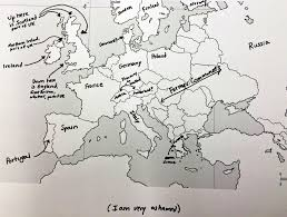 Blank Map Of Europe Quiz by This Is What Happens When Americans Are Asked To Label Europe And