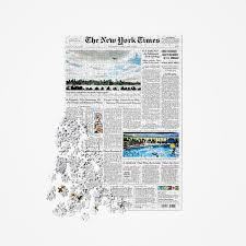 the new york times has front page puzzle nytstore