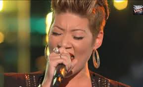 tessanne chin new hairstyle the voice tessanne chin wins her first battle move on to knock
