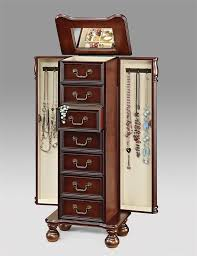 Dark Cherry Armoire 291 Best Jewelry Armoire Images On Pinterest Jewelry Armoire
