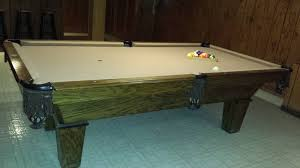 imperial sharpshooter pool table world of leisure billiards pool table 8 sold used pool tables