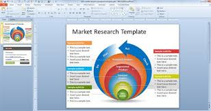 template for research presentation free powerpoint scientific
