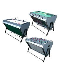3 in 1 air hockey table 3 in 1 game table foosball pool and air hockey multi game room table