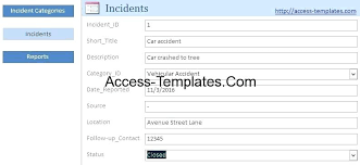 m e report template reporting template incident report template