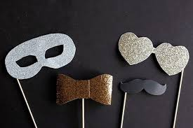 diy photo booth props 18 diys for the best new years photo booth