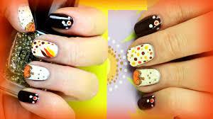 14 easy fall nail art designs easy fall nail art tutorial for