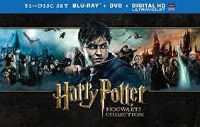 harry potter hogwarts collection blu ray dvd 2001 region free