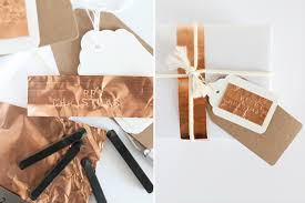 copper wrapping paper white and metallic gift wrapping lotts and lots diy and