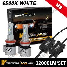 infiniti qx56 headlight assembly broview h8 h11 h9 12000lumen headlight low beam led conversion 72w